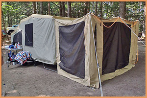 Pop Up Tent Site